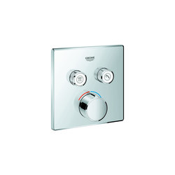 SmartControl Concealed mixer with 2 valves | Shower controls | GROHE
