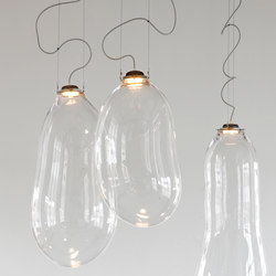 The Big Bubble glass lamp Small | Suspended lights | Tuttobene