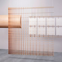 Grid Space Dividers | Sound absorbing room divider | Tuttobene