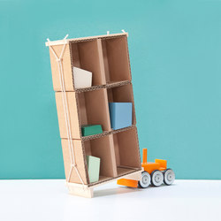Out of the box carton cabinet | Shelving | Tuttobene