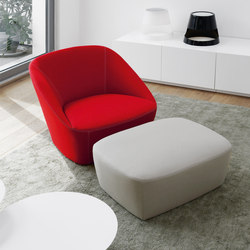 Bucket | 90 Armchair & 60 Footstool | Sessel | spHaus