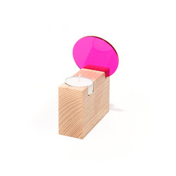 Colour Tealight Holder | Portacandele | Tuttobene