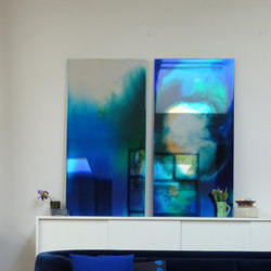 Picturesque Coloured Mirror XL | Espejos de baño | Tuttobene