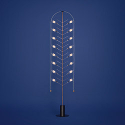 Current Feather Light Sculpture | Free-standing lights | Tuttobene