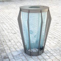 Soha bag holder | Exterior bins | Concept Urbain