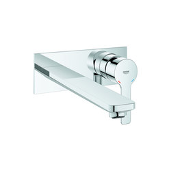 Lineare 2-hole basin mixer L-Size | Wash basin taps | GROHE