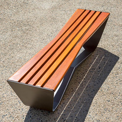 Karma backless bench | Panche da esterno | Concept Urbain