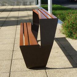 Karma picnic table | Exterior benches | Concept Urbain