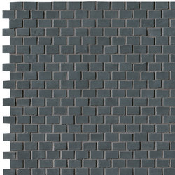 Brooklyn Brick Carbon Mosaico | Mosaïques | Fap Ceramiche