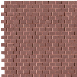 Brooklyn Brick Flame Mosaico | Mosaïques céramique | Fap Ceramiche