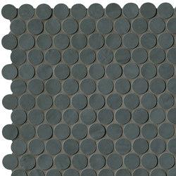 Brooklyn Round Carbon Mosaico | Mosaici ceramica | Fap Ceramiche
