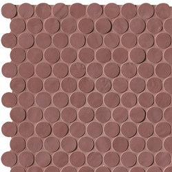 Brooklyn Round Flame Mosaico | Mosaici ceramica | Fap Ceramiche