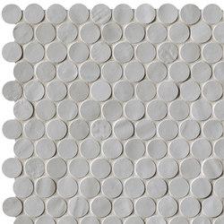 Brooklyn Round Fog Mosaico | Ceramic mosaics | Fap Ceramiche