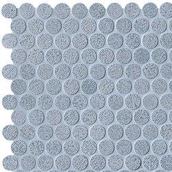 Color Line Silver Avio Round Mosaico | Mosaïques céramique | Fap Ceramiche
