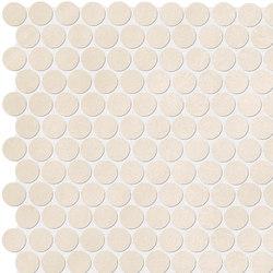 Color Line Beige Round Mosaico | Ceramic mosaics | Fap Ceramiche