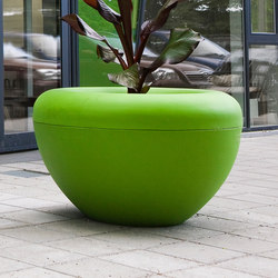 Scoop | Planter Green | Fioriere | Manga Street