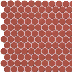 Color Line Marsala Round Mosaico | Mosaici ceramica | Fap Ceramiche