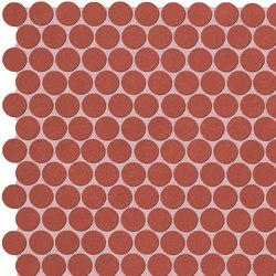 Color Line Marsala Round Mosaico | Ceramic mosaics | Fap Ceramiche