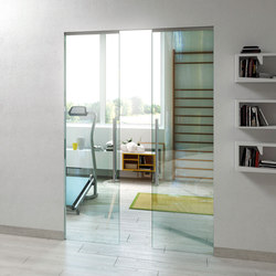 Essential Sliding | Glass room doors | Scrigno