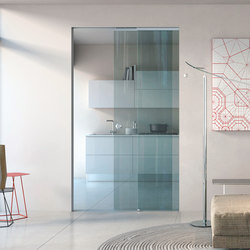 Essential Dual | Glass room doors | Scrigno