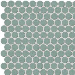 Color Line Salvia Round Mosaico | Mosaicos de cerámica | Fap Ceramiche