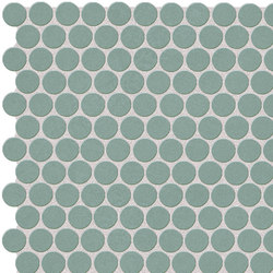 Color Line Salvia Round Mosaico | Ceramic mosaics | Fap Ceramiche