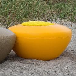Scoop | Scopi Seat Yellow | Modular seating elements | Manga Street