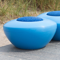 Scoop | Scopi Seat Blue | Modular seating elements | Manga Street