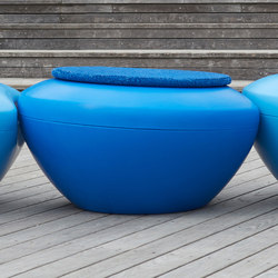 Scoop | Scopi Tabletop Blue | Exterior tables | Manga Street