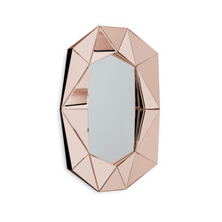 Diamond Large rosegold/silver | Mirrors | Reflections Copenhagen