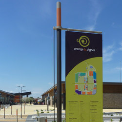 Or'a single mast | Wayfinding | Concept Urbain