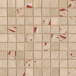 Connection Natural Deco Mosaico | Ceramic tiles | Fap Ceramiche