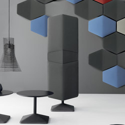 DV300-Accessories | Acoustic panels | Freestanding panels | DVO