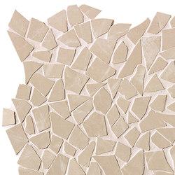 Roma Diamond Beige Duna Schegge Macromosaico | Ceramic tiles | Fap Ceramiche
