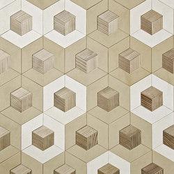 Marque | Cuboid Insert | Wood panels | Pintark