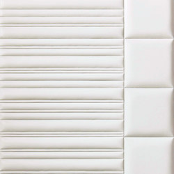 Marque | Fluted | Leather tiles | Pintark