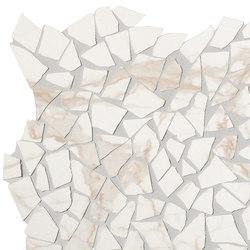 Roma Diamond Calacatta Schegge Macromosaico | Ceramic tiles | Fap Ceramiche