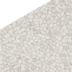 Roma Diamond Caleido Frammenti White | Ceramic tiles | Fap Ceramiche
