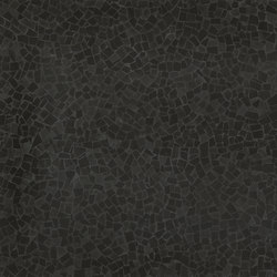 Roma Diamond Frammenti Black | Ceramic tiles | Fap Ceramiche