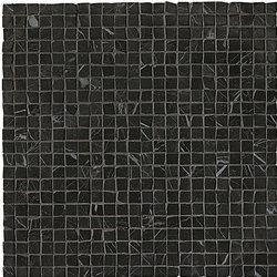 Roma Diamond Nero Reale Micromosaico | Ceramic tiles | Fap Ceramiche