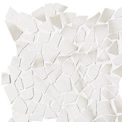 Roma Diamond Statuario Schegge Mosaico | Piastrelle ceramica | Fap Ceramiche