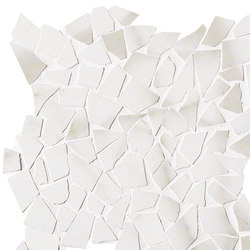 Roma Diamond Statuario Schegge Mosaico | Ceramic tiles | Fap Ceramiche