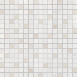 Roma Diamond Carrara Mosaico | Ceramic tiles | Fap Ceramiche