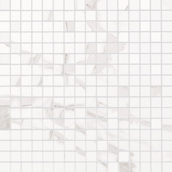 Roma Diamond Statuario Mosaico | Ceramic tiles | Fap Ceramiche