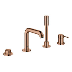 Essence Four-hole single-lever bath combination | Bath taps | GROHE