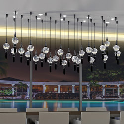 Boule Passement Bespoke Dining | Suspended lights | Windfall