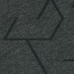 Flotex Planks | Triad anthracite | Carpet tiles | Forbo Flooring