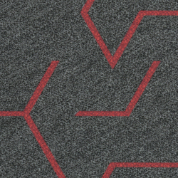 Flotex Planks | Triad red line | Carpet tiles | Forbo Flooring