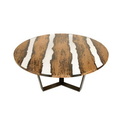 Bricola | Round Chimenti Table | Dining tables | Alcarol