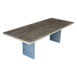 Marble Ways | Stone Legs Table | Tables de repas | Alcarol